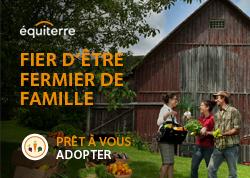 équiterre - fier d'être fermier de famille - 2015